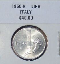 1956R Italy 1 Lira BETTER DATE Take a L@@K