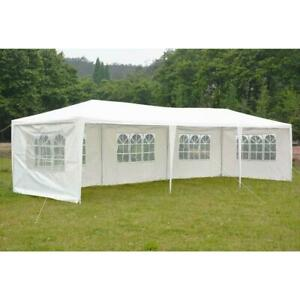 10'x30' Canopy Party Wedding Tent Outdoor Gazebo Pavilion Heavy Duty/Spiral Tube