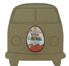 Camper van  Pack of 5 -18mm MDF Kinder Egg Holder Freestanding