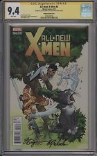 ALL-NEW X-MEN #4 - 1 FOR 50 VARIANT SIGNED 2X - CGC 9.4 - 1368523035
