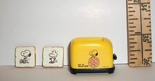 FASHION DOLL MINIATURE RE-MENT SNOOPY TOASTER & TOAST ACCESSORY 1/6 SCALE