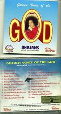 SAI BABA Golden Voice of the God - Original 1996 SAICAN CD SAI 0017