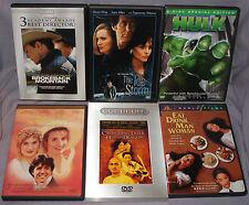Ang Lee DVD LOT: Crouching Tiger/Eat Drink Man Woman/Ice Storm/Brokeback & More