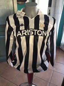 Maglia Calcio Juventus Stagione 88-89 Sponsor Ariston Originale Kappa