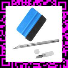 KIT scalpel + raclette de pose de film en téflon avec feutrine covering stickers