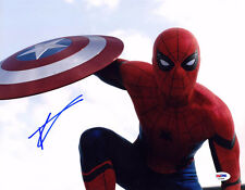 Tom Holland SIGNED 11x14 Photo Peter Spider-Man Homecoming PSA/DNA AUTOGRAPHED
