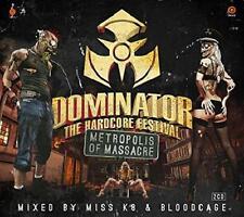 DOMINTOR 2014 =Metropolis of Massacre= K8 & Bloodcage =2CD= HARDCORE GABBER D&B!