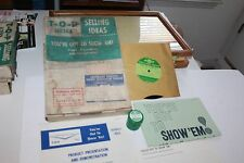 RARE 1963 CHEVROLET DEALER  TRAINING KIT YOU'VE GOT TO SHOW 'EM TRUCK PRODUCTS
