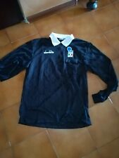 '90 MAGLIA CALCIO SHIRT ARBITRO DIADORA VINTAGE TG.L AIA FIGC REFEREE