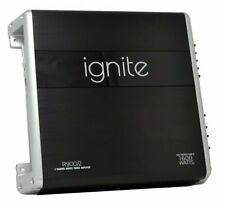 Ignite Audio 2 Channel Class A/B Car Amplifier 1600 Watts Max Power, R900/2