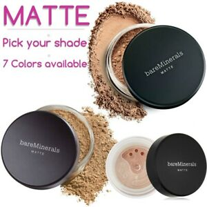 Bare Escentuals MATTE Bare Minerals Foundation SPF XL 8g 6g 7 Colors Large Jar