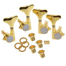 Set Of 2L2R Gold Bass Tuning Pegs Tuning Machine Heads For Bass Peg