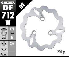 DISQUE DE FREIN GALFER Wave Rigide df712w 174 x 3 mm SET 2x Avant Quad