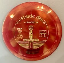 Used Westside Discs VIP Sword 168g 8/10 Ink On Bottom