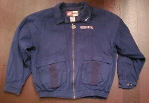 Vintage NIKE Virginia Cavaliers Bomber military Jacket SZ L RARE🔥 NCAA 🔥