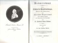 Mesmerismus System der Wechselwirkung Friedrich Franz Anton Mesmer Magnetismus