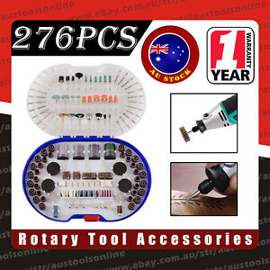 Rotary Tool Accessories Kit 276PCS Universal Fit for Polishing Cutting Grinding