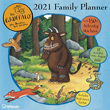 Family Planner Gruffalo 2021 Calender Organiser 150 Stickers Columns Pocket