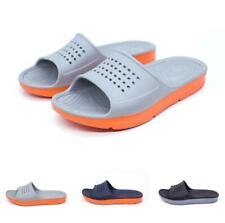 Mens Garden Shoes Slippers Open Toe Bathing Thick Sole Non-slip Lightweight 50 B