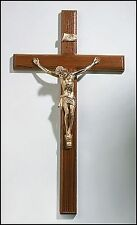 "TRADITIONAL LARGE 20"" Moulded CHURCH WALL CRUCIFIX INRI Jesus Cross"