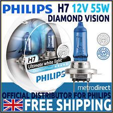 Philips Diamond Vision H7 5000K mise à niveau AMPOULES DE PHARE (Twin Pack) 12972DVS2