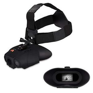 Nightfox Swift Night Vision Goggles Digital Infrared 75yd Range