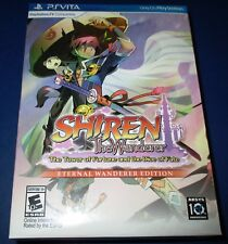 Shiren The Wanderer Eternal Wanderer Limited Edition PS Vita *New! *Free Ship!
