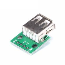 2PCS Type A Female USB To DIP 2.54MM PCB Board Adapter Converter For Arduino