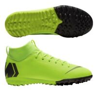 NIKE MERCURIAL SUPERFLY VI TF DF YOUTH SOCCER TURF SHOES AH7344-701 SIZE 5