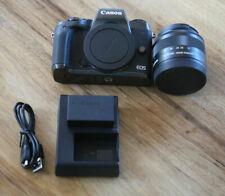 Canon EOS M5 24.2MP Digital SLR Camera - Black (Kit w/ EF-M 15-45mm Lens)