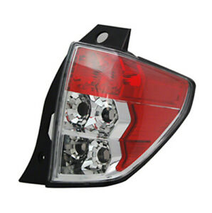 New Taillight Right Passenger Side 2009-2013 Subaru Forester 166-50895