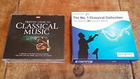 2 x CLASSICAL MUSIC CD's - 7 DISCS - VIOLIN, PIANO, CELLO - WELL KNOWN COMPOSERS