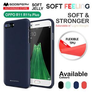 R11s R11 Plus Mercury Goospery Soft JELLY Feeling Gel Case Silicone for Oppo