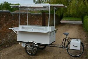 Coffee Trike Street Food Catering Pop Up Retail Cart Mobile Shopping Mall Bike