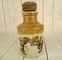 Antique 1850'S Vintage Jar Old William Powell Bristol Stoneware Pottery Crock
