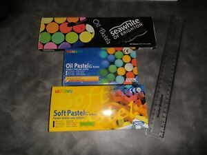 Mungyo and Seawhite Artist's Pastels Box Sets - preowned