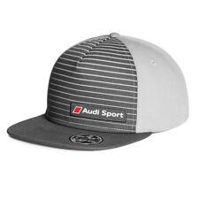 Audi Sport Snapback Baseballcap 3131802400 Grau Cap Kappe Mütze Hut Basecap