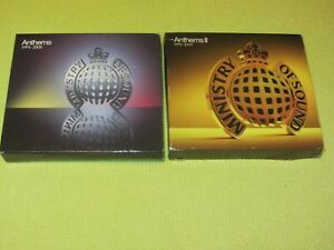 MOS Anthems 1991 – 2008 & Anthems 1991 – 2009  2 Albums 6 CDs Dance House Trance