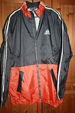 Fitness Laufjacke Wasserdicht ADIDAS TARTARO Grau/Orange Gr.L NEU o.Etikett