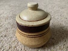 Pottery Craft USA vintage stoneware trinket jar
