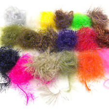 UV POLAR CHENILLE - Micro, Medium, Large - Hareline Jig Fly Tying Material NEW!