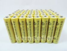 48 pcs AAA rechargeable 600mAh Ni-Cad Batteries for Solar-Powered Lights B48