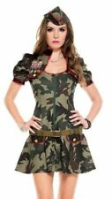 SEXY MILITARY COSTUME FOR WOMEN – CAMOUFLAGE DRESS