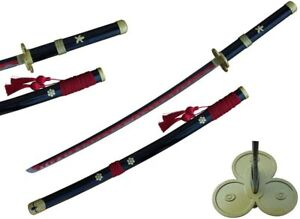 One Piece Roronoa Zoro & Trafalgar Law Steel Blade Samurai Sword Katana Series