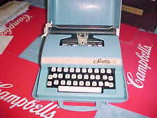 Vintage 1960's Secretary Child's  Typewriter with Case tested working