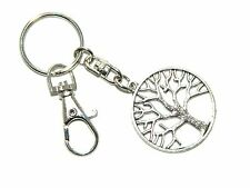 B-0603 - Tree of Life Keyring / Key Ring Bag Decoration. Growth Wisdom Wiccan