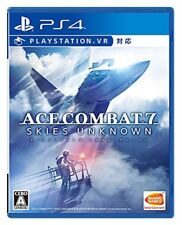 New PS4 ACE COMBAT 7 SKIES UNKNOWN Japan PLJS-74025 4573173342667