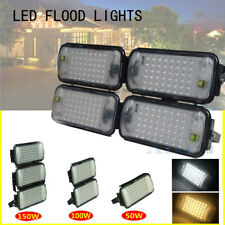 LED Flood Light 200W 150W 100W 50W Outdoor Waterproof Yard Garden Lamp Spotlight