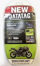 New Insurance Approved DataTag Motorbike Motorcycle Anti Theft ID Security Kit
