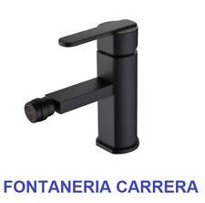 Monomando de bide negro inoxidable serie Roma Inox grifo de bidet para baño Imex